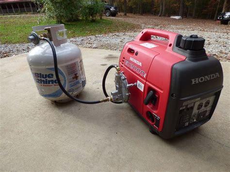 honda generator propane conversions