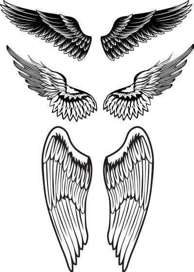 angel wing tattoo for men wings designs for projects to try