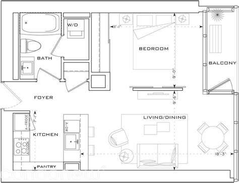 l tower floor plans the l tower by cityzen f2 floorplan 1 bed 1 bath