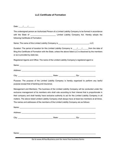 llc membership certificate template 15 membership certificate template free