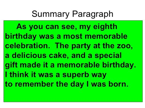 My Best Birthday Essay by 5 Paragraph Essay