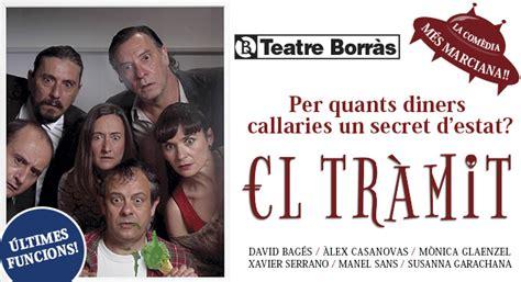 teatro borras entradas el tr 224 mit en barcelona teatre borr 225 s ticketea