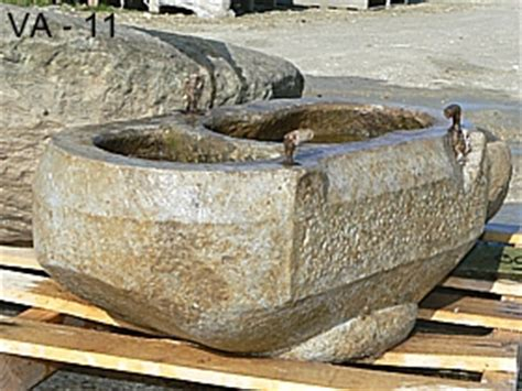 vasche da giardino in pietra benedetto silvio vasche da giardino in pietra di luserna