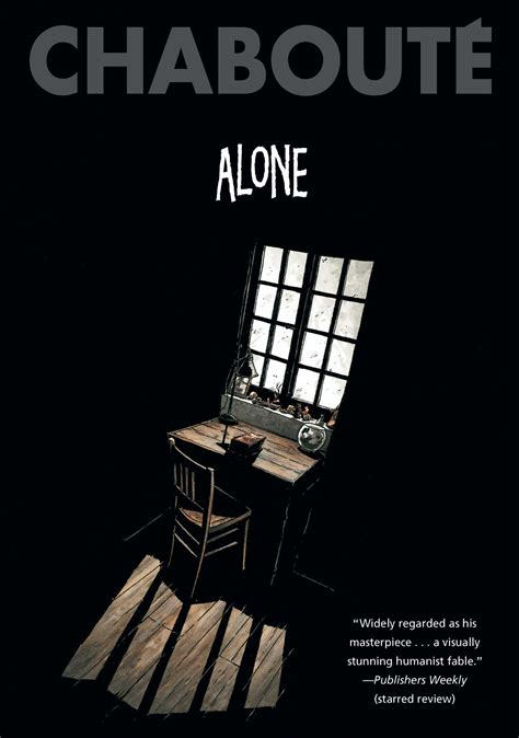 alone books alone book by christophe chabout 233 official publisher