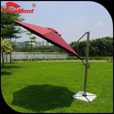 advertising patio umbrella replacement cover aluminum