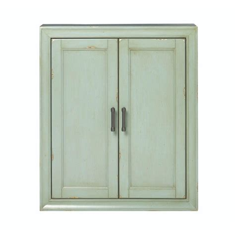 Home Depot Bathroom Cabinets Storage Home Decorators Collection Hazelton 25 In W X 28 In H X 8 In D Bathroom Storage Wall Cabinet