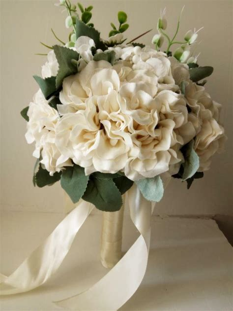 Order Wedding Flowers by Made To Order Artificial Wedding Flower Bouquet