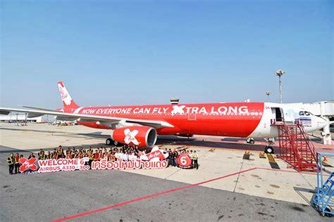 airasia x fleet thai airasia x welcomes sixth airbus a330 300 plane