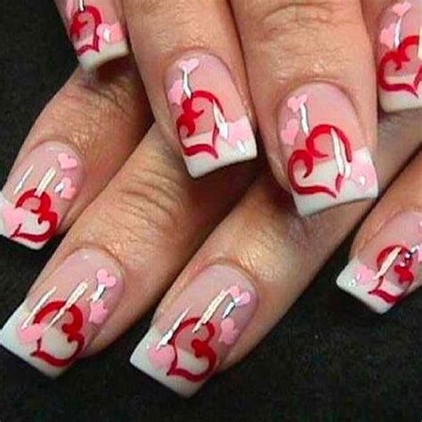 valentines day nail designs   finger