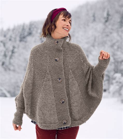 knit cape how to knit a poncho cape joann jo