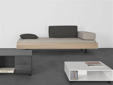 sofa bett sofa bett aus massivem holz iku by sanktjohanser design