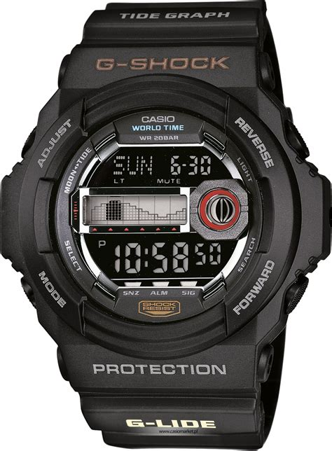 Casio G Shock Glx 150 G Lide 1 casio g shock black g lide tide graph world time glx 150 1er brand new sustuu