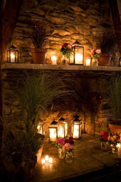 fireplace display 30 adorable fireplace candle displays for any interior