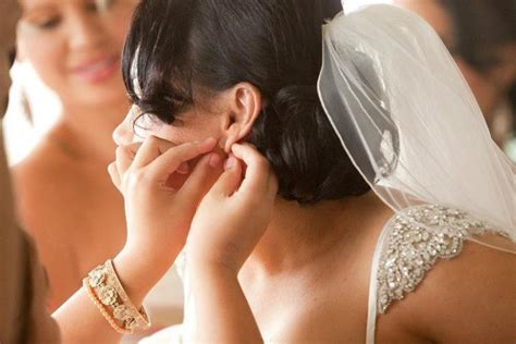 Wedding Hair With Fringe And Veil by Bridal Hair And Wedding Makeup Cairns