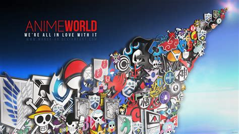 Anime World by Anime World By Ar On Deviantart