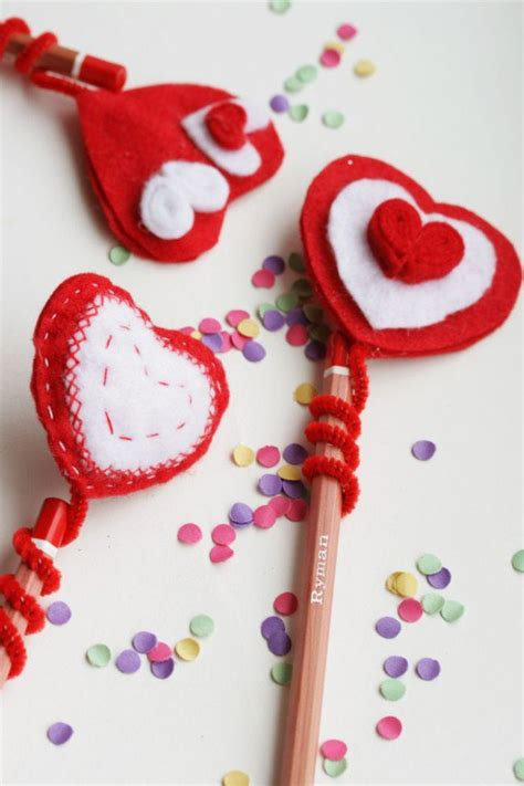 Handmade Hearts Crafts - 30 shaped handmade crafts for valentines days sad