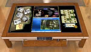 Coffee Table Touch Screen Computer Another Coffee Table That Can Compute We Make Money