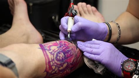tattoo parlor movie russia moscow july 28 2015 tattooing on the body