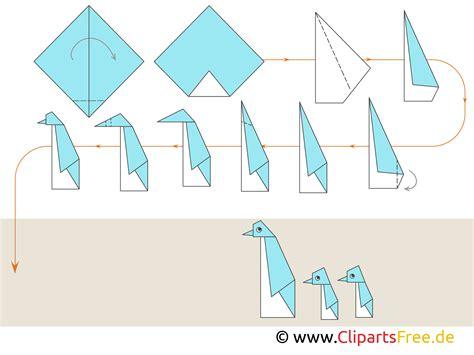 Origami Basteln Mit Papier by Papierfalten Origami Basteln Mit Papier Pinguine