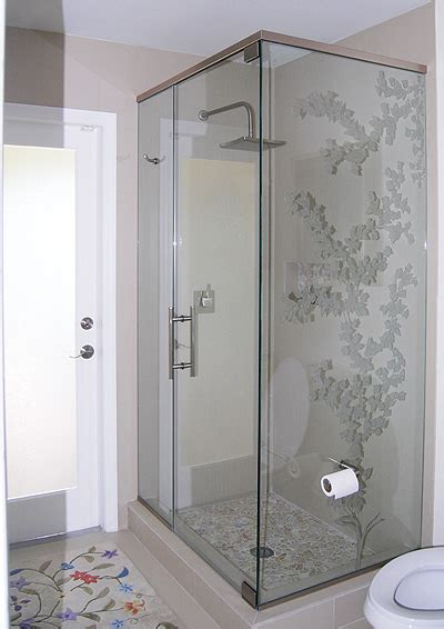 Glass Shower Stalls by Frameless Shower Enclosure Artistry In Glass
