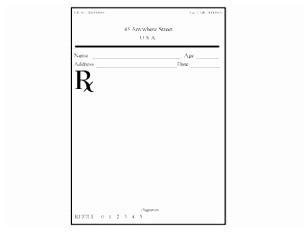 10 Prescription Template Word Free Eiuii Templatesz234 Prescription Pad Template