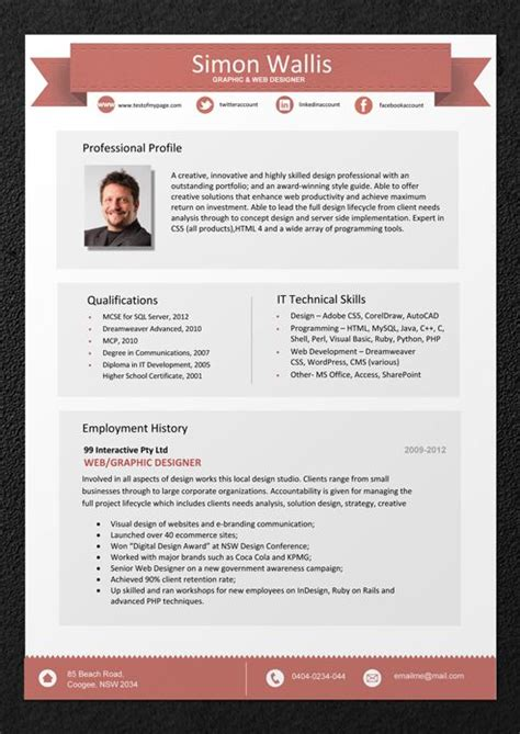 professional resume sles australia 17 best images about sle resumes professional resume