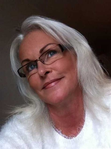 attractive eyeglasses for graying hair 30 hairstyles for women over 50 long hairstyles 2016 2017