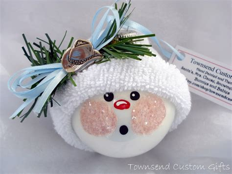 Handmade Snowman Ornaments - snowman ornaments handmade images craft ideas