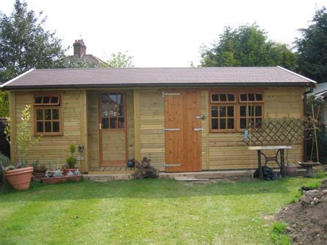 Sheds Cheltenham by Garden Building Modular Larch Apex Barn Garden Rooms