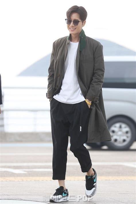 Jinjin Fashion park hae jin sports airport fashion