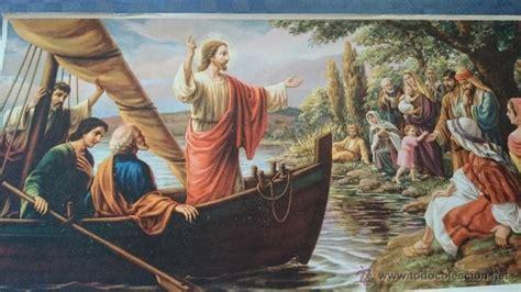 imagenes de jesus predicando jesus predicando a los pescadores comprar litograf 237 as