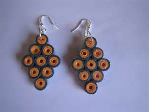handmade jewelry paper quilling earrings 2