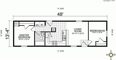 three bedroom mobile home 3 bedroom single wide mobile home floor plans beautiful