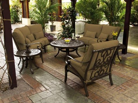 patio seating slipcover set outdoor patio furniture