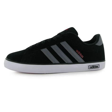 Sepatu Casual Adidas Vulc Derby Terlaris 2 adidas derby vulc suede trainers mens black grey casual sneakers shoes footwear ebay
