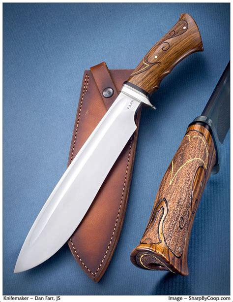 Handcrafted Bowie Knives - 77 best classic bowie knives images on custom