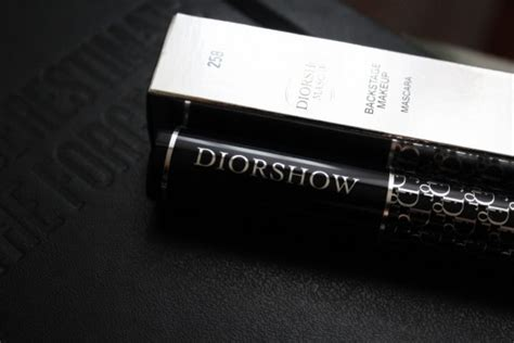 Diorshow Backstage Mascara Expert Review by Diorshow Mascara Backstage Makeup 258 Azure Blue отзывы