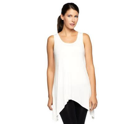 logo layers by lori goldstein scoop neck curved hem knit logo layers by lori goldstein scoop neck asymmetrical hem