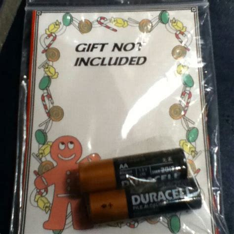 secret santa recipient gets a gift not included for