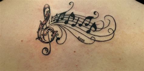 musical note tattoo wonderful note creativefan