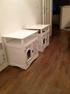 meuble pour chat helena maison de toilette niche pour