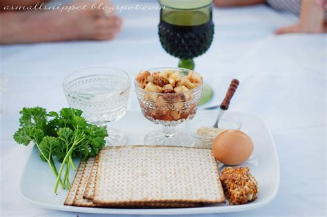 Why Do We Recline On Passover by A Christian Passover A Small Snippet