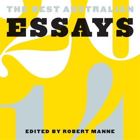 Best Essayists 2014 by Antonia