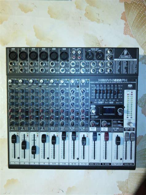 Mixer Xenyx 1222fx xenyx 1222 fx search images audiofanzine