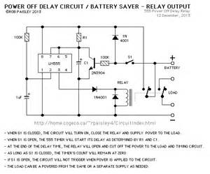 power quot off quot delay timer