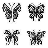 tatuaggi farfalle e fiori insieme insieme delle farfalle tatuaggio disegno
