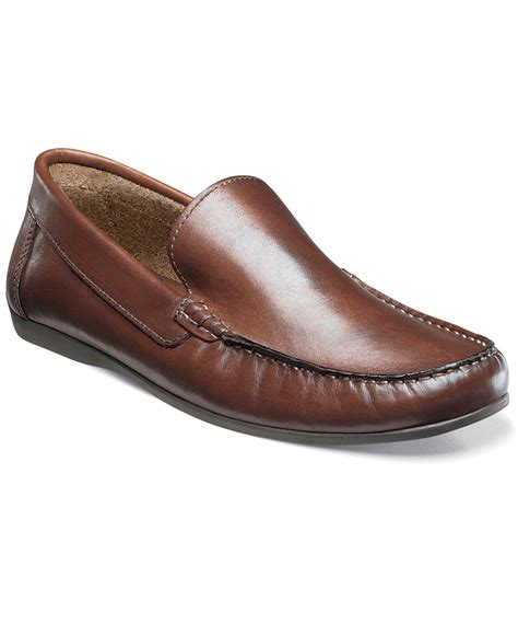 florsheim loafers for florsheim jasper venetian loafers in brown for lyst