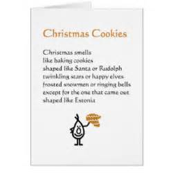 funny christmas poem gifts on zazzle