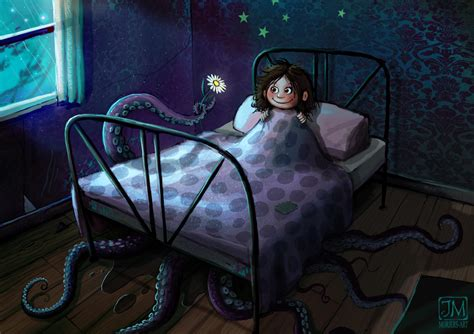 monsters under the bed not really a monster under the bed by jerry8448 on deviantart