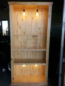 How To Build Built In Bookcases Build An Industrial Traditional Rustic Bookcase Part 1